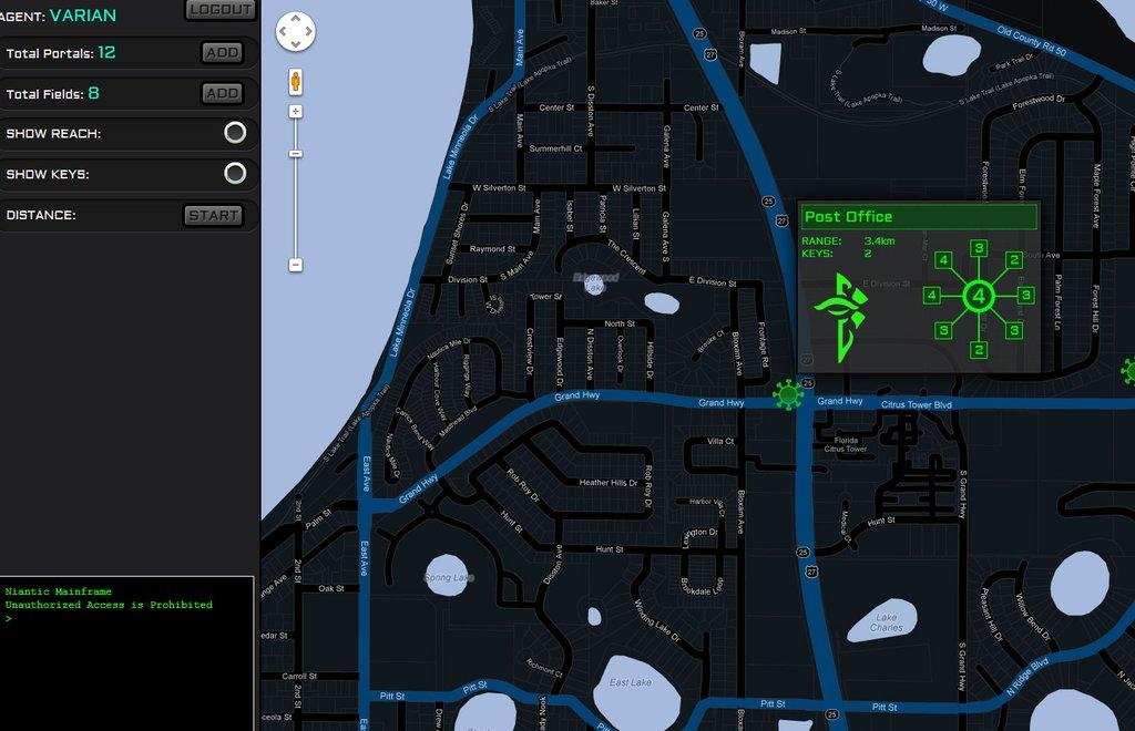HackIngress - New Ingress Intel Map? - Extendiality