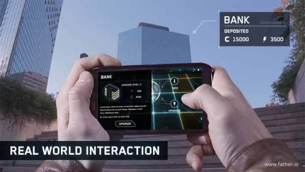 Father.IO Augmented Buildings
